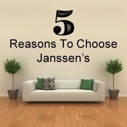 5 Reasons To Choose Janssen's