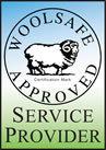 Janssen's is a Woolsafe Approved Service Provider